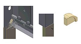 Ślizg SL ER3 do nowych pokryw bocznych