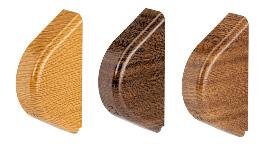 Boczki dla systemów SRT w kolorach drewnopodobnych<